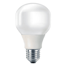 Energy saving light bulb effect 70W